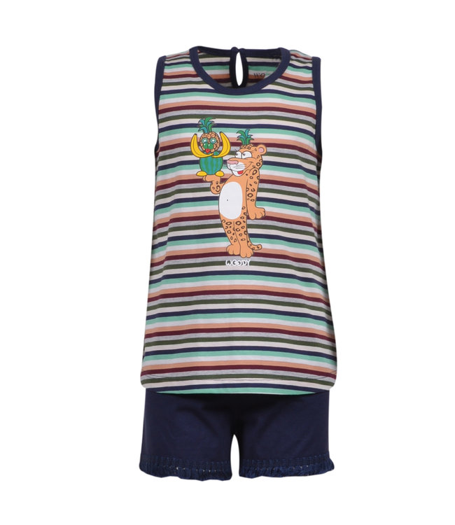 Woody 201-1-PSP-S/977 Meisjes-Dames pyjama