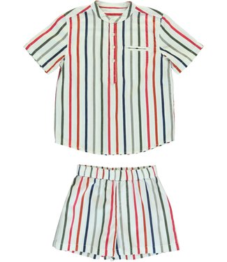 Dorélit Boys Set Acamar & mars Woven Stripe Multi