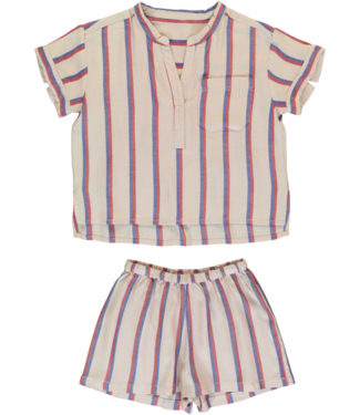 Dorélit Women Set Carpo Shirt & Castor Woven Viscose