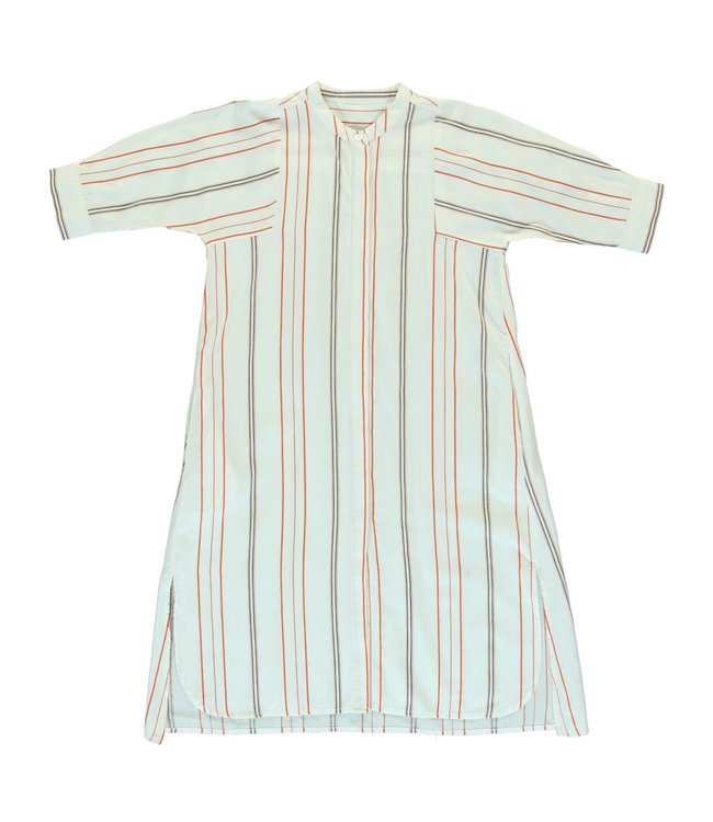 Dorélit Women Dress Capella Woven Stripe Chili