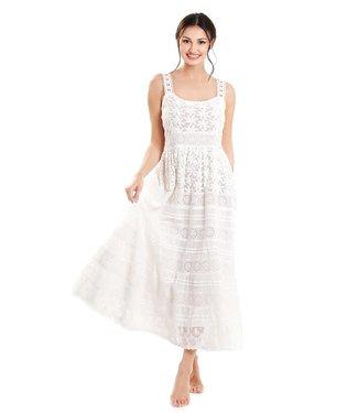 DavidBeach Rodi Sleeveless dress White