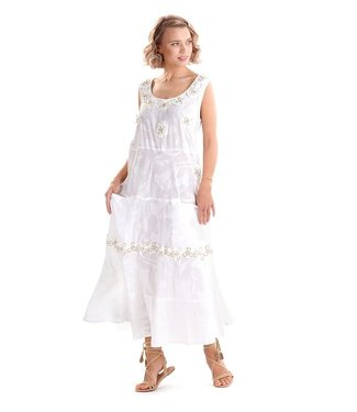 Iconique Mora Maxi Dress White