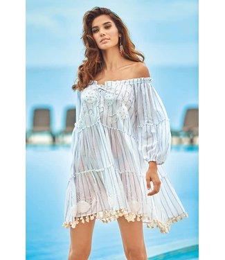 Iconique Emma Bandeau Dress White