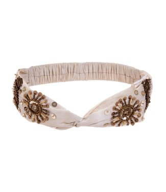Iconique Headband Beige