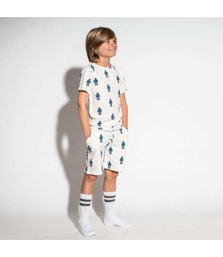 Snurk Snurk Robot Shorts Kids