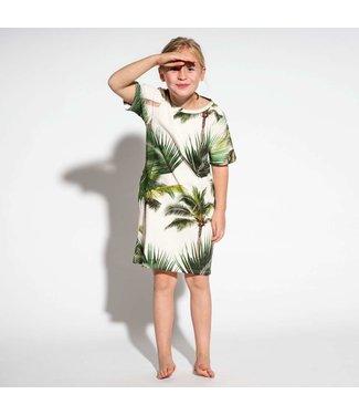 Snurk Snurk Palm Beach T-shirt Dress Kids