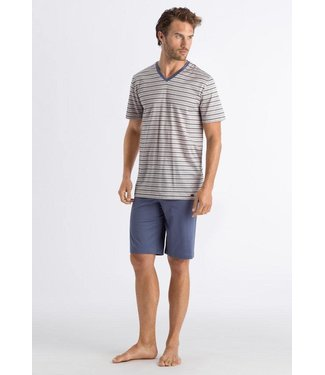 Hanro Herenpyjama Madu Sailor Stripe