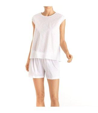 Hanro Short Pyjama Kiah White
