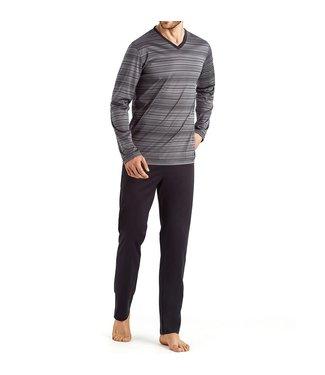 Hanro Darian Grey Stripe 075155