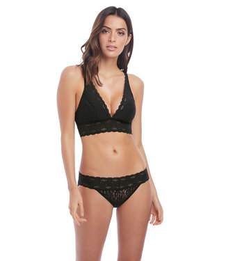 Wacoal Halo Lace Wire Free Soft Cup Black