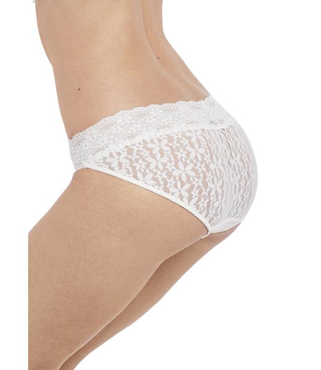 Wacoal Halo Lace Bikini Brief Ivory