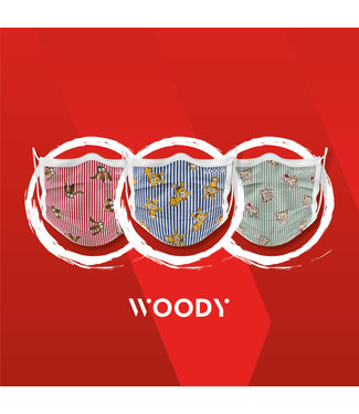 Woody Mondmasker