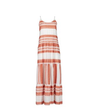 Pink Label Beachdress Rapsody Boho Red