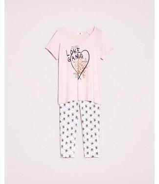 Twin-Set Dames Pyjama 201LL224CC St.Nero