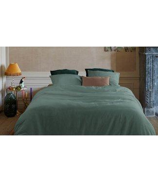 Easy Dekbedovertrek Cotton/Linen Green