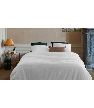 Easy Dekbedovertrek Cotton/Linen White