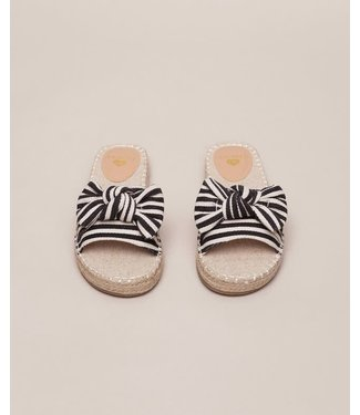 Twin-Set Slipper 201LMPZRR Bicolor Nero/Ottico