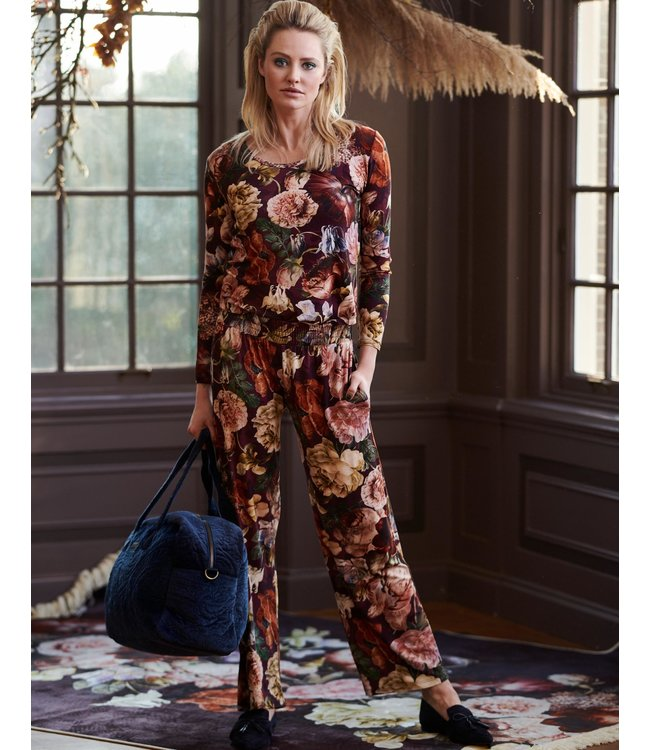 Essenza Naomi Claire Trousers Long Cherry