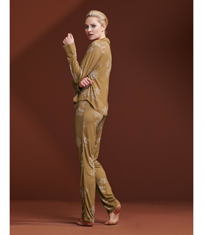 Essenza Beth Lauren Trousers Long Cinnamon