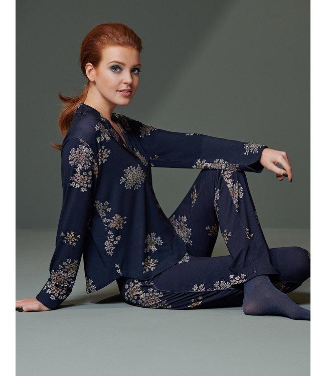 Essenza Beth Lauren Trousers Long Indigo Blue