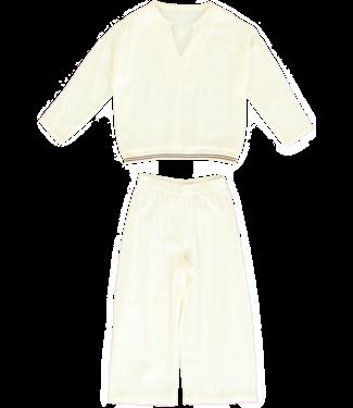 Dorélit Girls Pyjama Set Deline&Alkes Woven Offwhite
