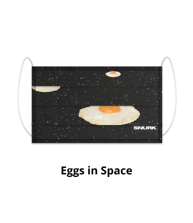 Snurk Snurk Mondkapje Eggs In Space