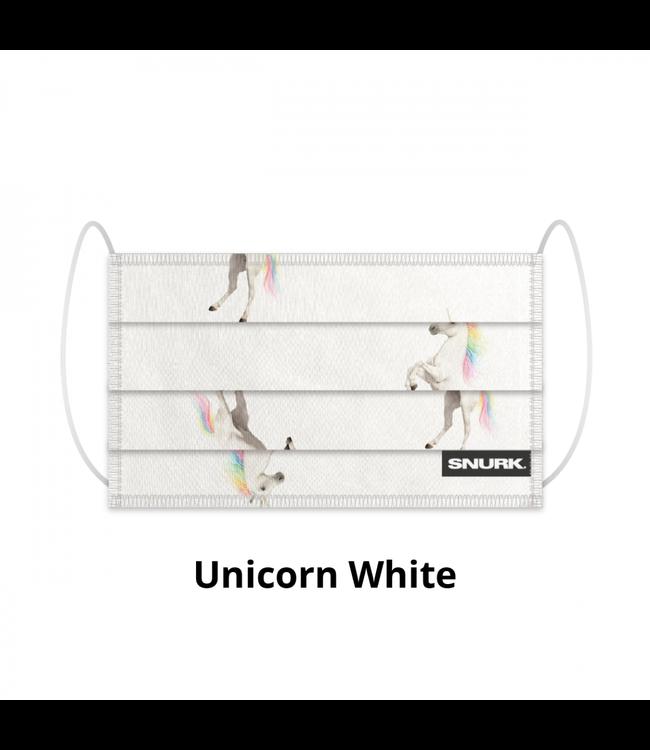Snurk Snurk Mondkapje Unicorn White
