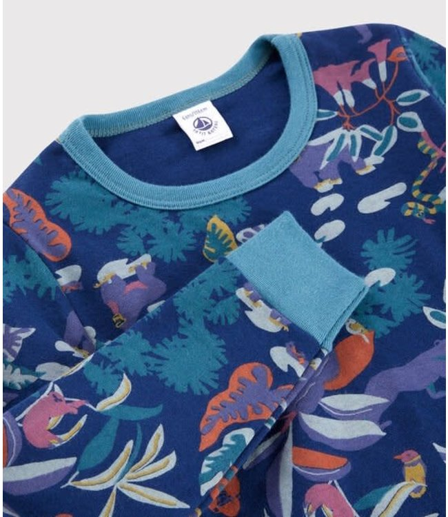 Petit Bateau Pyjamaset Medieval/Multicolor 56027