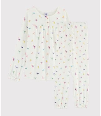 Petit Bateau Pyjamaset Marshmallow/Multicolor 55899