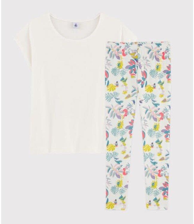Petit Bateau Pyjamaset Marshmallow/Multicolor 57501