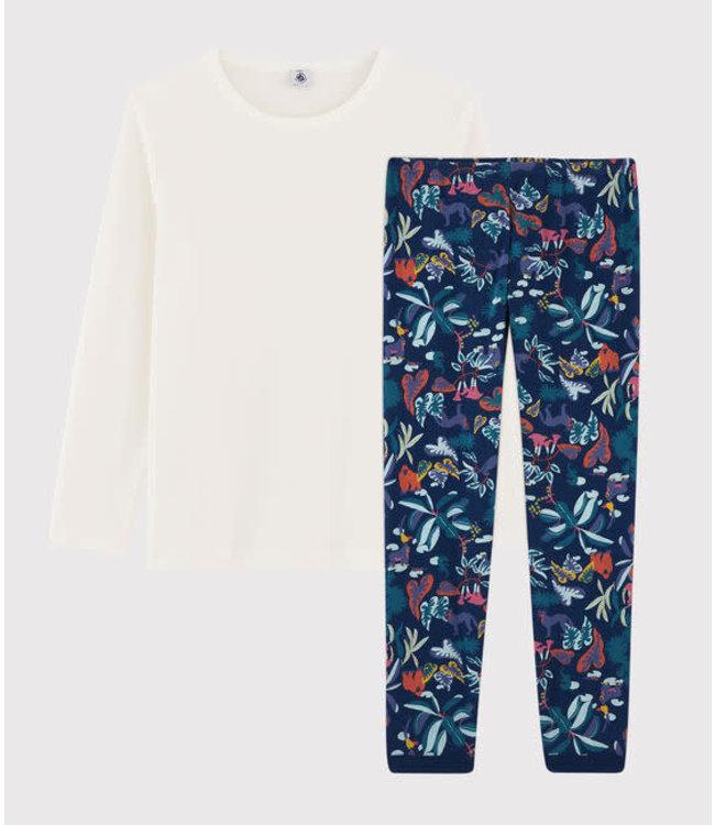 Petit Bateau Pyjamaset Medieval/Multicolor 57509