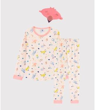 Petit Bateau Pyjamaset Fleur/Multicolor 57116