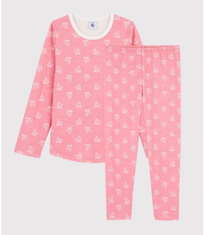 Petit Bateau Pyjamaset Cheek/Marshmallow 57104