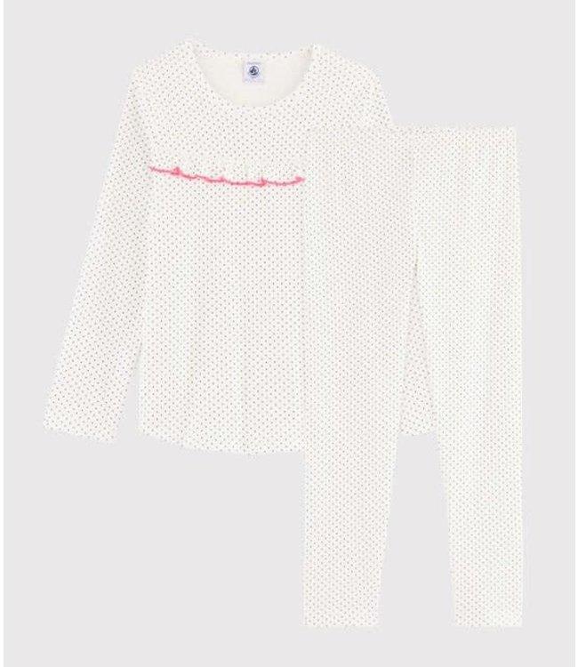Petit Bateau Pyjamaset Marshmallow/Medieval 57106