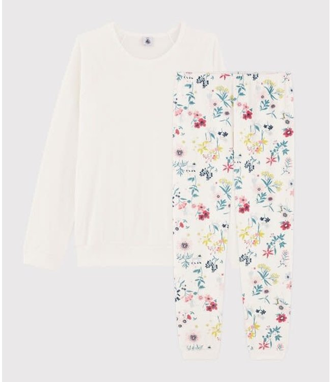 Petit Bateau Pyjamaset Marshmallow/Multicolor 57507