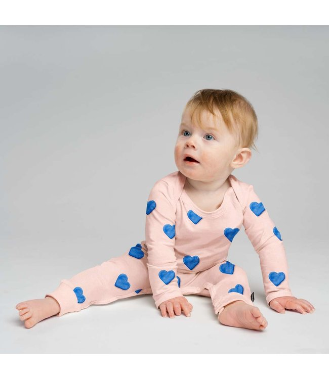 Snurk Clay Heart Jumpsuit Babies