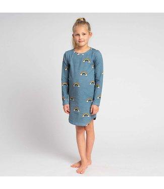 Snurk Clay Rainbow Long Sleeve Dress Kids