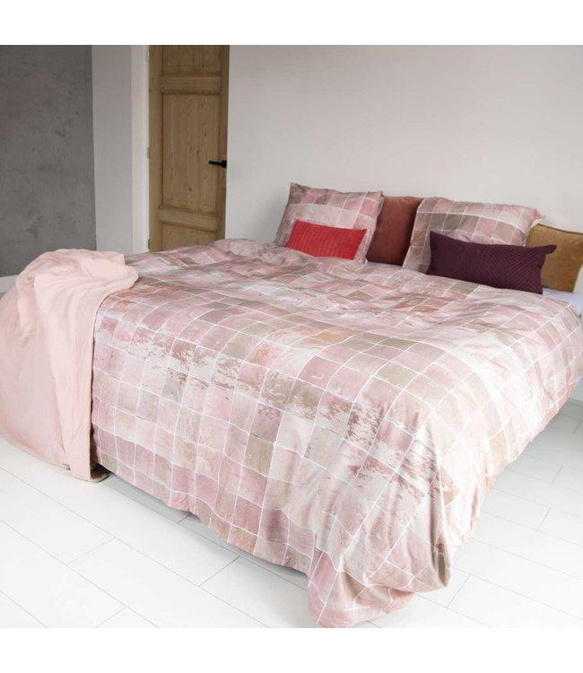 Snurk Tiles Vintage Rose Donsovertrek