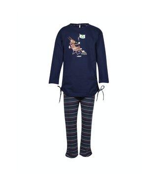 Woody 202-1-TUL-S/895Meisjes-Dames pyjama