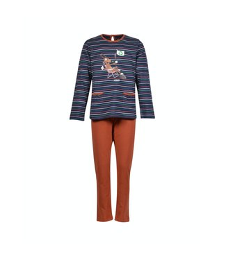 Woody 202-1-BSL-S/987Meisjes-Dames pyjama