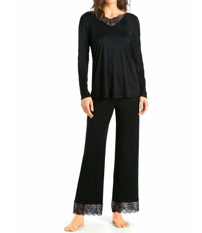 Hanro Pyjama Set Wanda 076801 Black