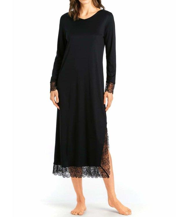Hanro Nightdress Wanda 076800 Black
