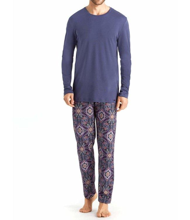 Hanro Pyjama Set Night&Day 075111 Paisley Jewel