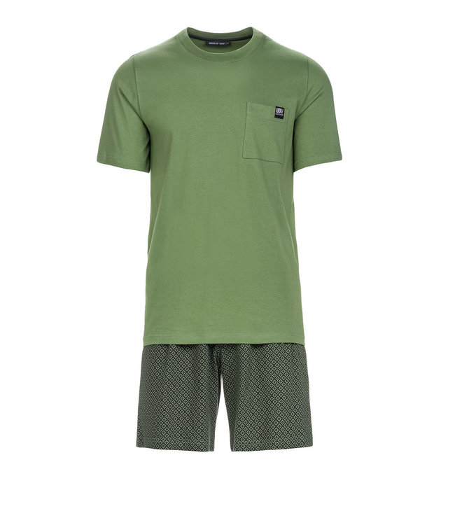 VAMP est.1983 Heren Pyjama Khaki 13674