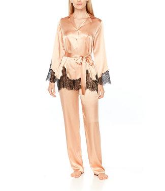 Coemi Isabel Pyjama Set Honey /black 207