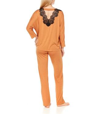 Coemi Ginger Pyjamaset Gold/black C403