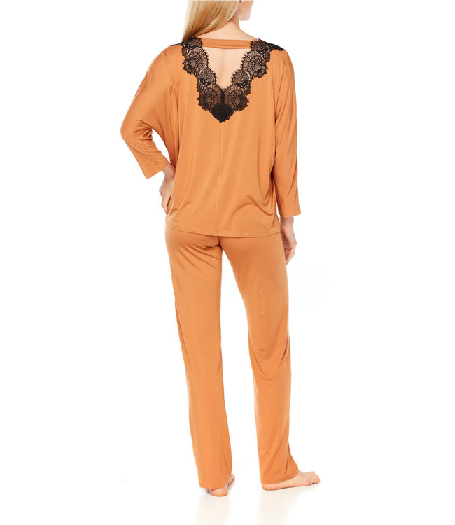 Coemi Ginger Pyjamaset Gold/black C403