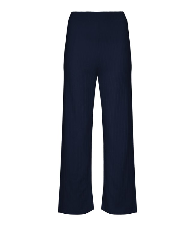 Essenza Nina Uni Trousers Long Indigo Blue