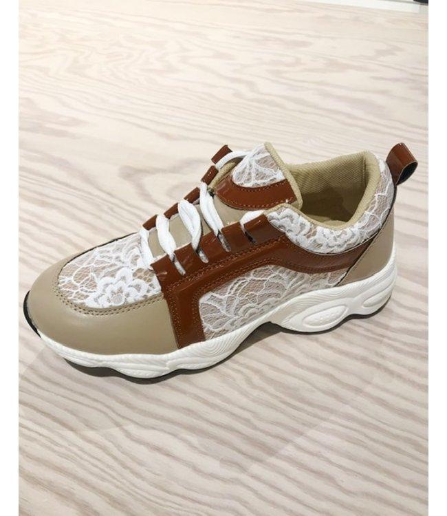 Twin-Set Sneakers Avorio 202LIPZAA