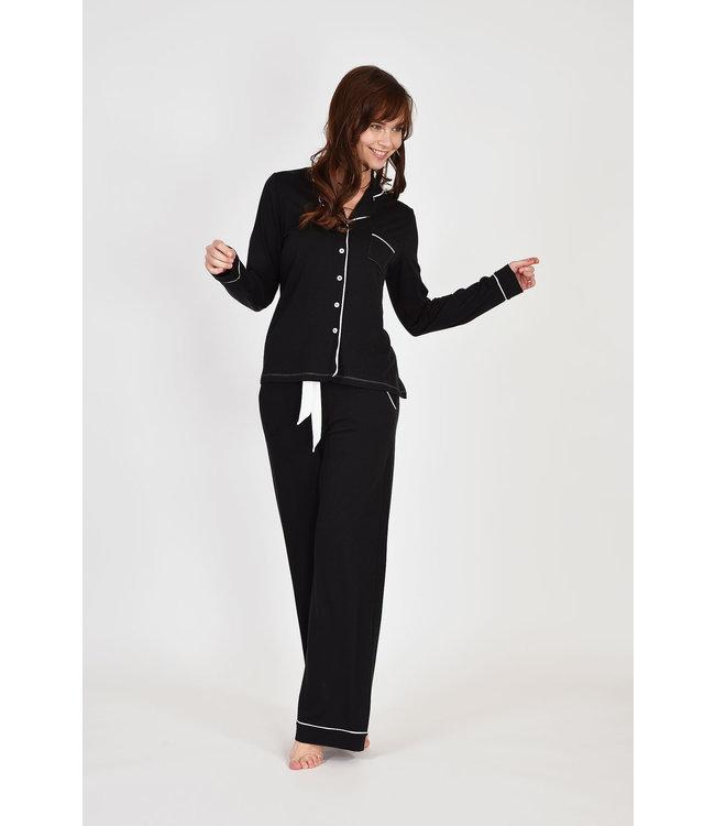 Lords & Lilies 202-5-LPN-Z/199Dames pyjama